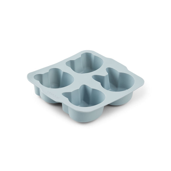 Liewood Mariam Cake Pan 2 Pack - Blue Mix