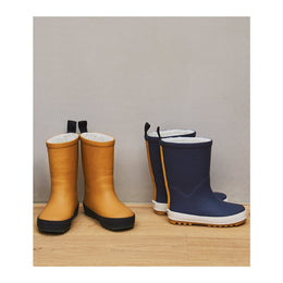 Liewood Mason Thermo Rain Boot - Mustard / Black Mix