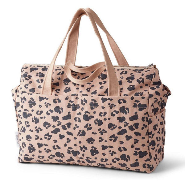 Liewood Melvin Mommy Bag in Leo Rose Print