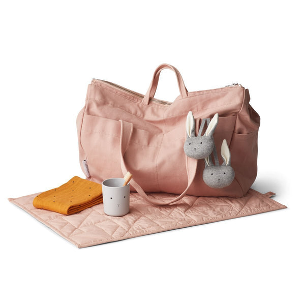 Liewood Melvin Mommy Bag in Rose