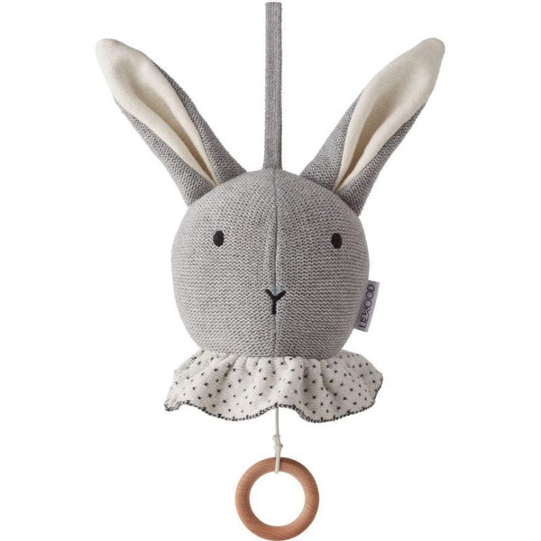 Liewood Music Mobile Angela Rabbit Grey