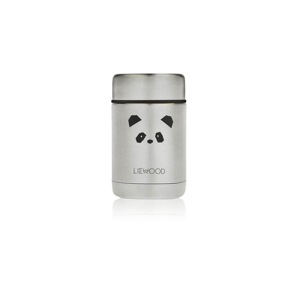 Liewood Nadja Food Jar - Panda Stainless Steel