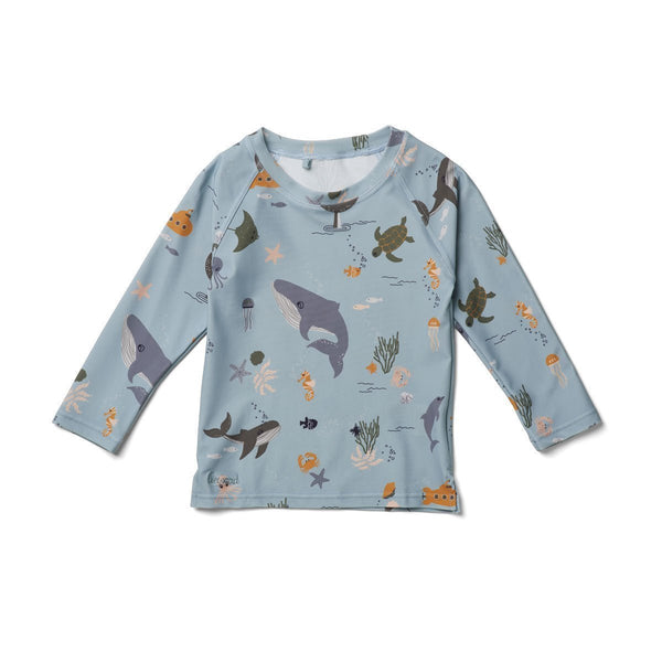 Liewood Noah Swim Tee Sea Creature Mix