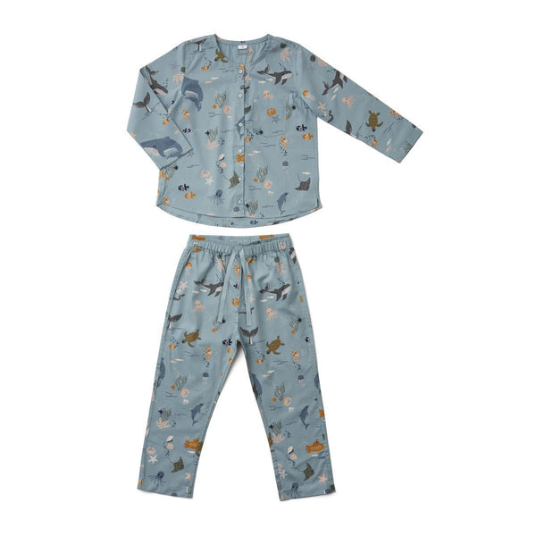 Liewood Olly Pyjamas Set Sea Creature Mix