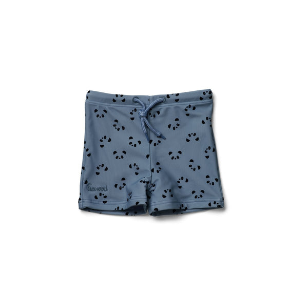 Liewood Otto Swim Pants Panda Blue Wave