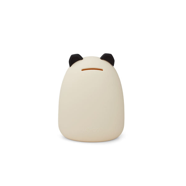 Liewood Palma Money Bank in Panda Creme de la Creme