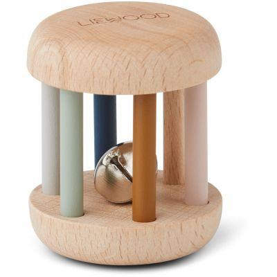 Liewood Rattle Merete in Wood Mix