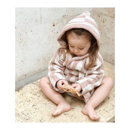 Liewood Reggie Bathrobe Rose Stripe