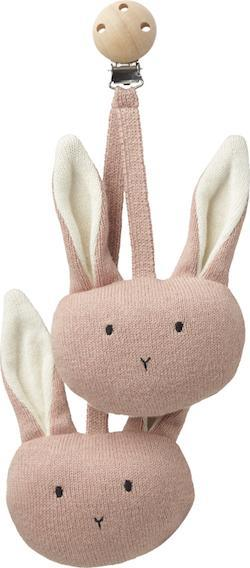 Liewood Rosa Rabbit Pram Toy in Rose