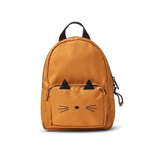 Liewood Saxo Mini Backpack in Cat Mustard