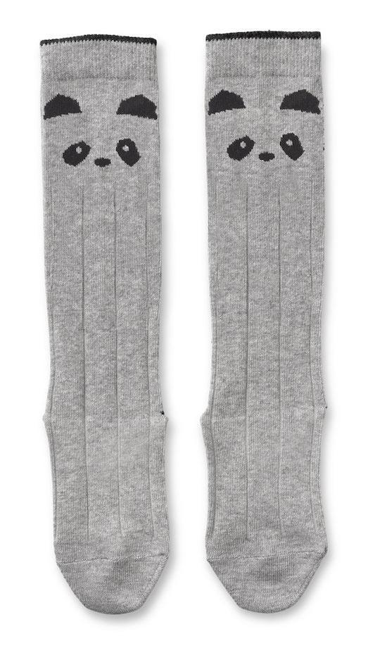 Liewood Sofia Knee Socks in Grey Panda