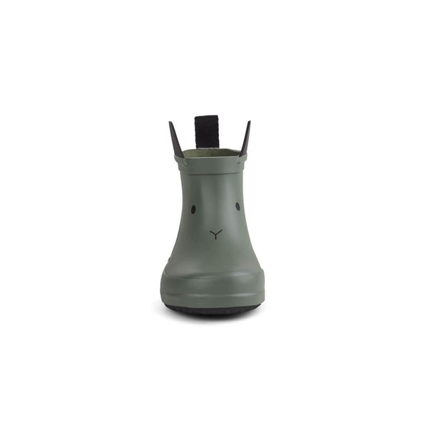 Liewood Tobi Rain boot - Rabbit Green Faune