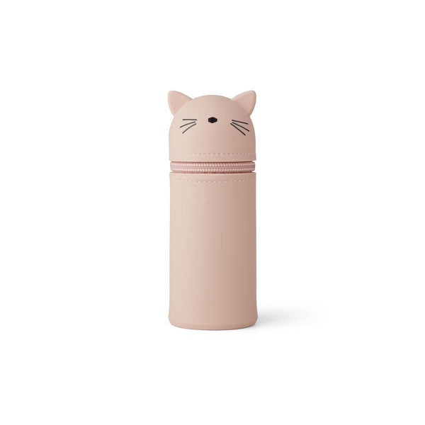 Liewood Vitus Pencil Case in Cat Rose