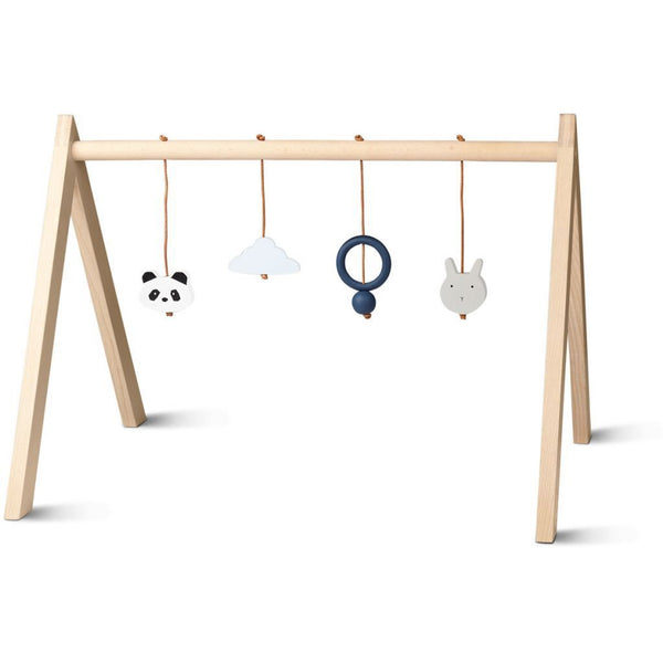 Liewood Wooden Playgym with accessories (Blue)