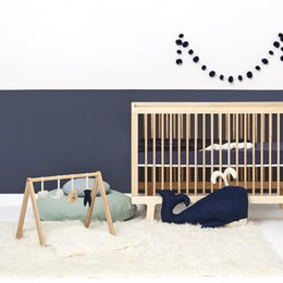 Little Green Sheep A Frame Baby Play Gym - Ocean Whale