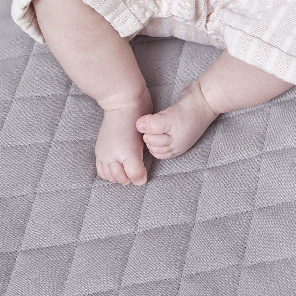 Little Green Sheep Playmat in Grey