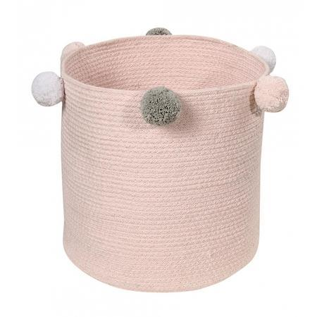 Lorena Canals Baby Basket in Bubbly Pink