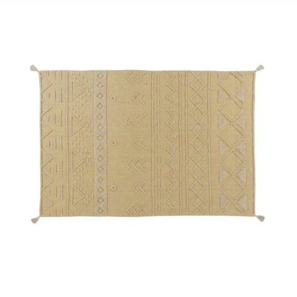 Lorena Canals Tribu Washable Rug in Honey