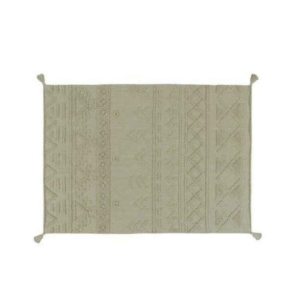 Lorena Canals Tribu Washable Rug in Olive