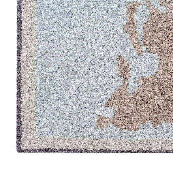 Lorena Canals Washable Rug Vintage Map