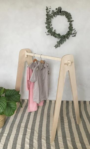 Loullou Clothes Rack Natural