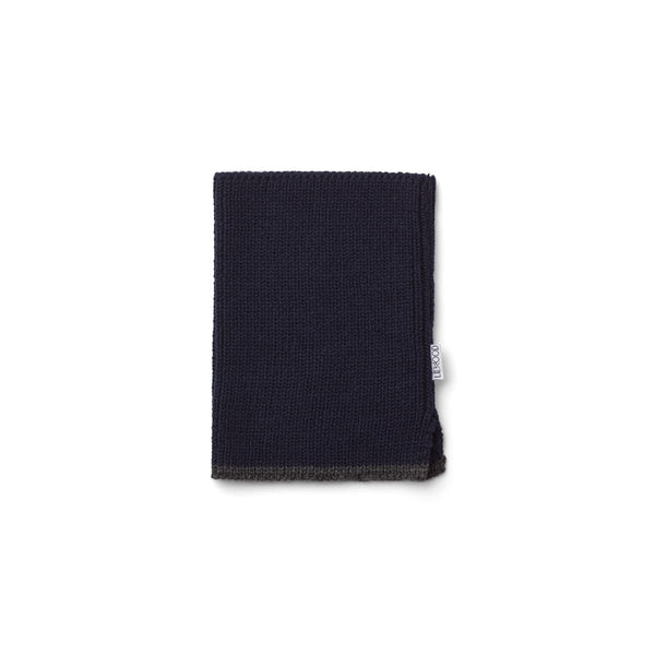Liewood Madigan Neck Warmer - Navy - scandibornusa