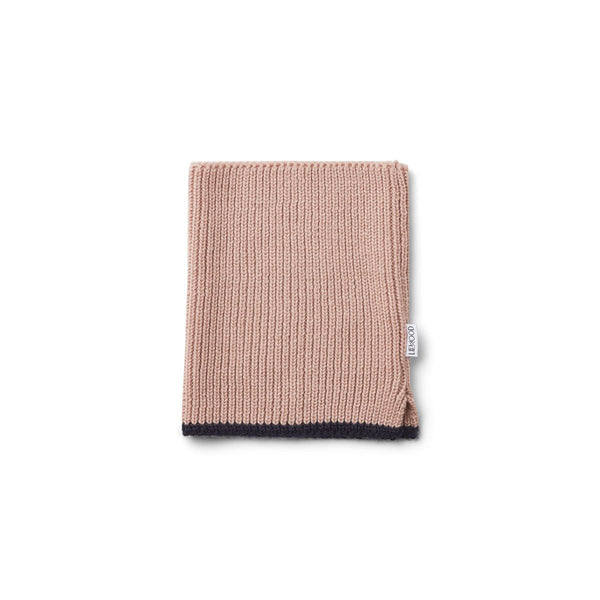 Liewood Madigan Neck Warmer - Rose - scandibornusa