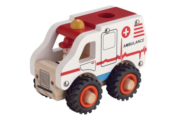 Magni Wooden Ambulance