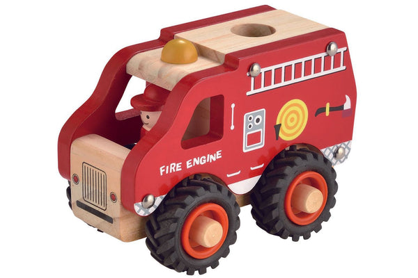 Magni Wooden Fire Engine