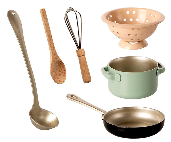 Maileg Doll's Cooking Set