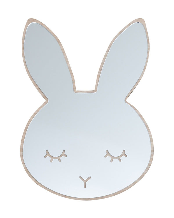 Maseliving Sleepy Bunny Mirror - Oak