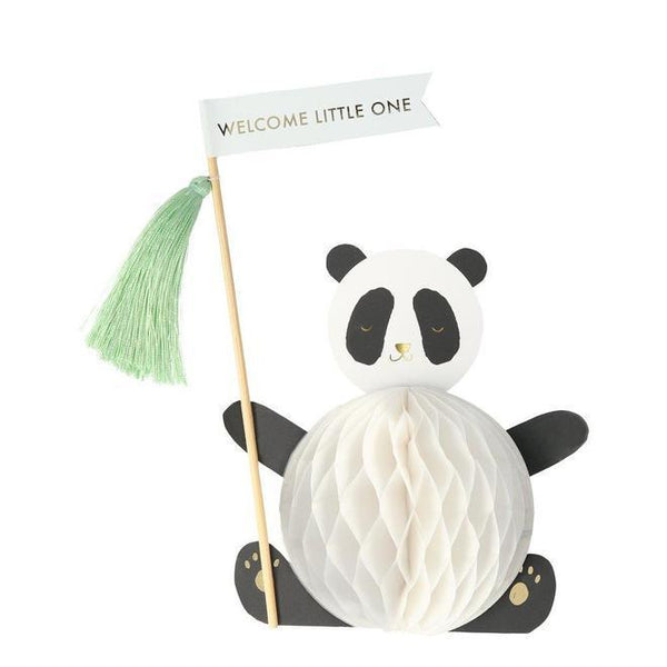 Meri Meri Baby Panda Stand-up Card
