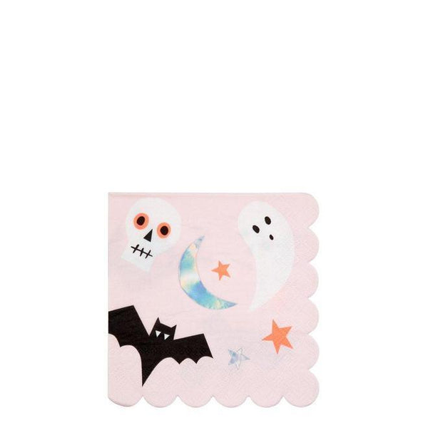 Meri Meri Halloween Napkins - Halloween Icons (Small)