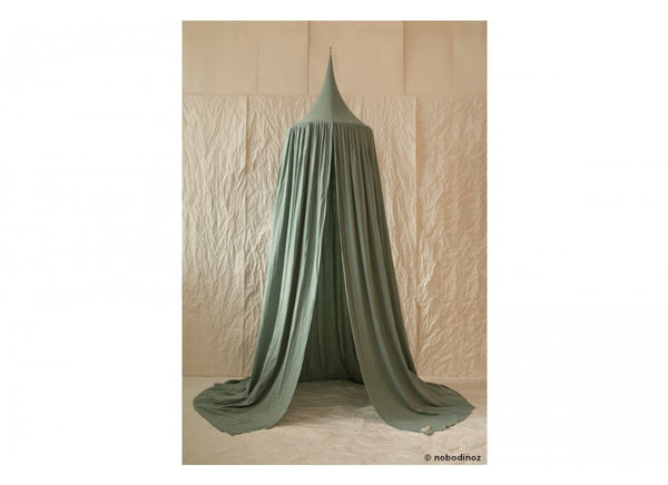 Nobodinoz Amour Canopy in Eden Green