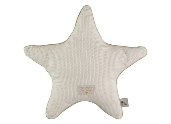 Nobodinoz Aristote Star Cushion in Natural