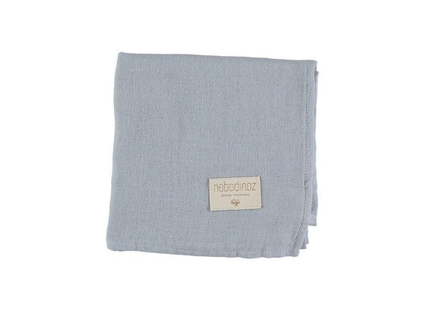 Nobodinoz Baby Love Swaddle in Riviera Blue