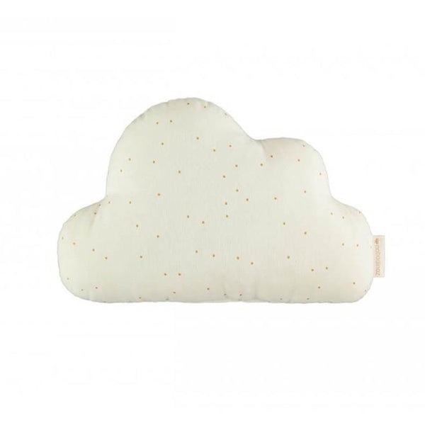 Nobodinoz Cloud Cushion in Sweet Dots Natural