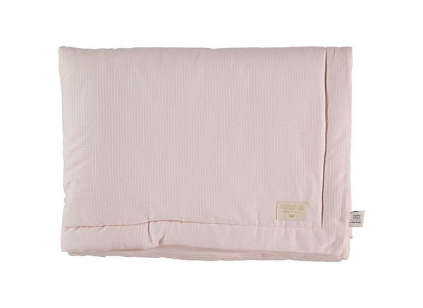 Nobodinoz Laponia Mini Blanket - Honeycomb Dream Pink