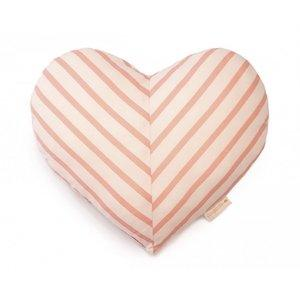Nobodinoz Love Cushion in Candy Stripes