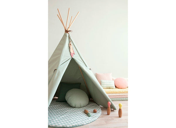 Nobodinoz Nevada Teepee in Provence Green