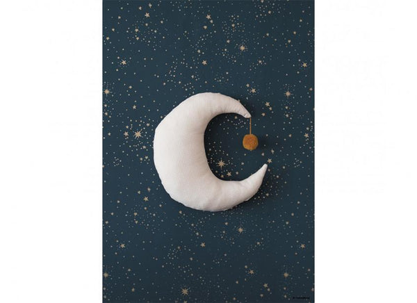 Nobodinoz Pierrot Moon Cushion in Natural