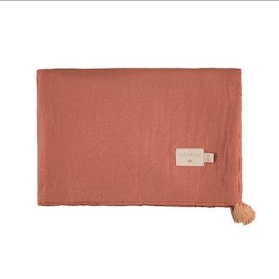 Nobodinoz Treasure Summer Blanket - Toffee