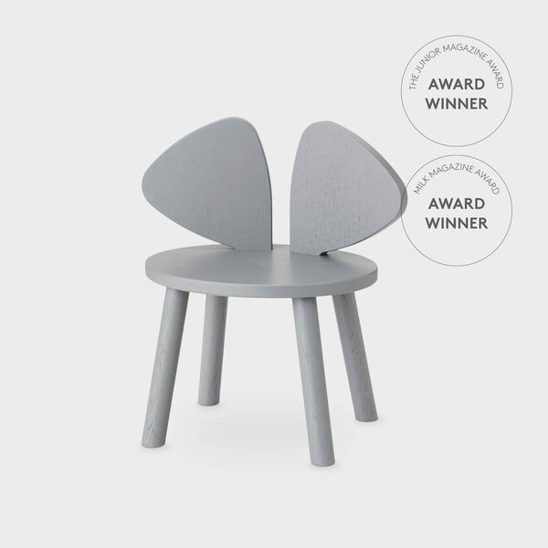 Nofred Mouse chair in grey (2-5 years)