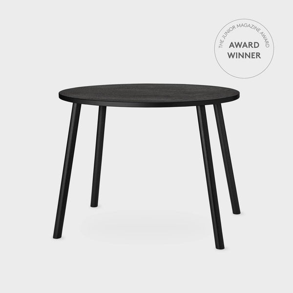 Nofred Mouse School Table in Black (6-10 Years)