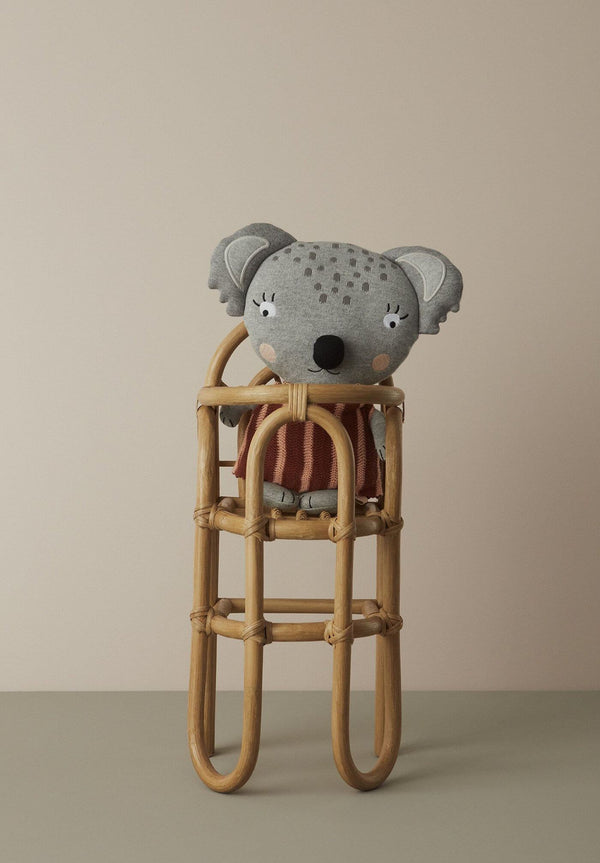 OYOY Dolls Rattan Highchair