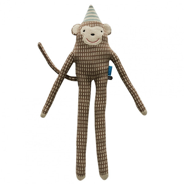 OYOY Mr Nelsson Monkey Cushion