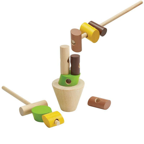 Plan Toys Stacking Log Play Set