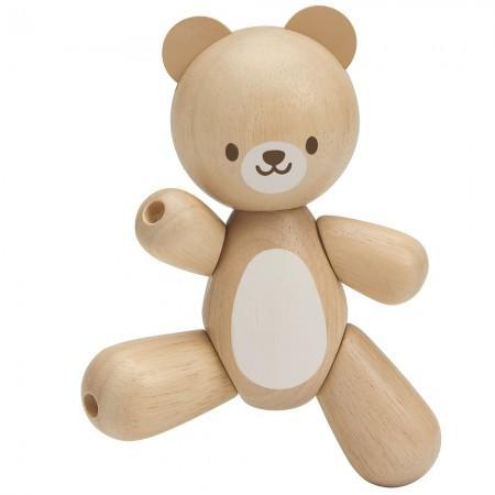 Plan Toys Wooden Toy Bear