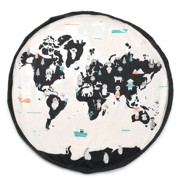 Play and Go Toy Bag - World Map
