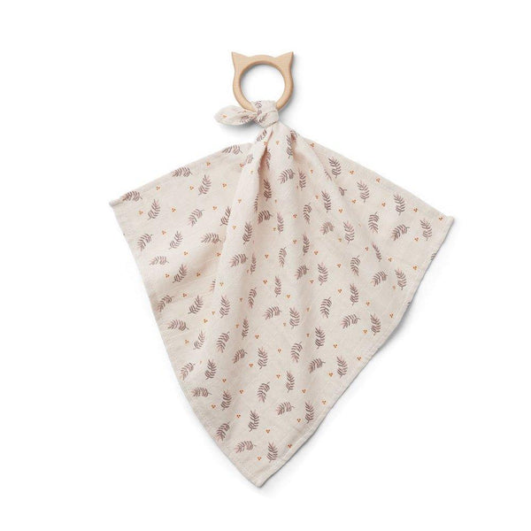 Liewood Dines Teether Cuddle Cloth - Fern Rose - scandibornusa